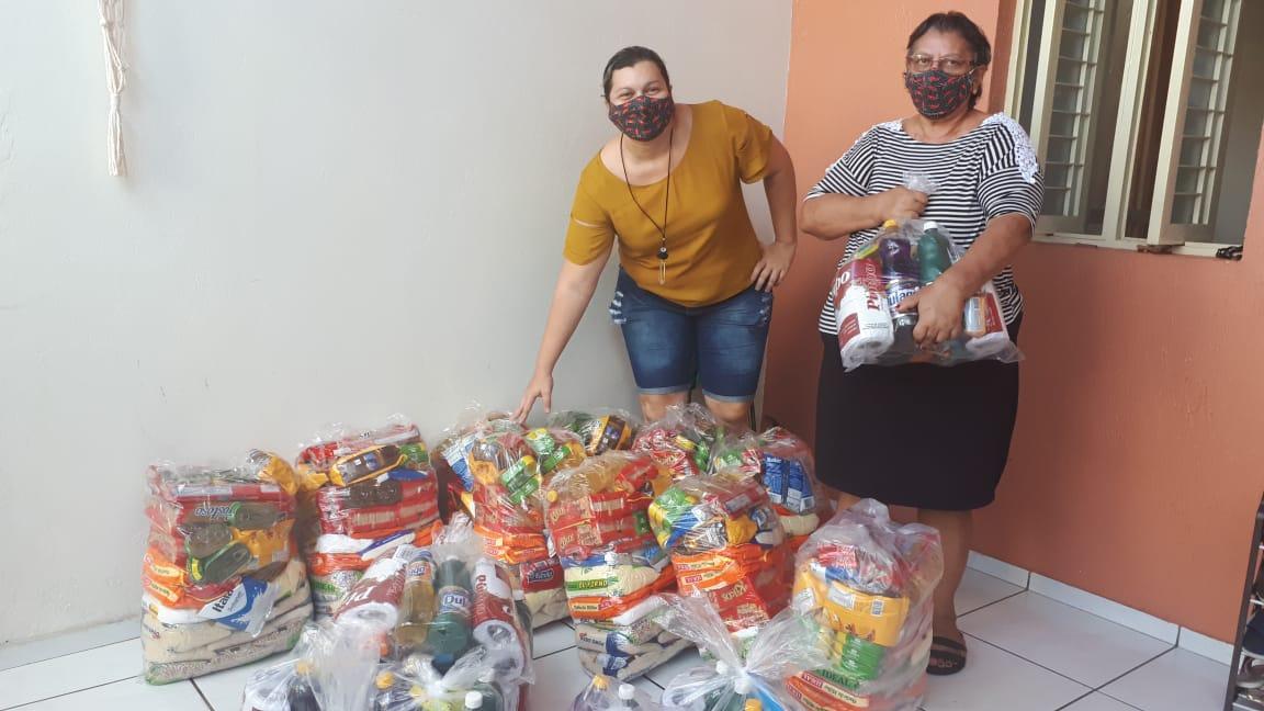 SOADF recebe cestas provenientes da Campanha Ponte Solidária com o Piauí
