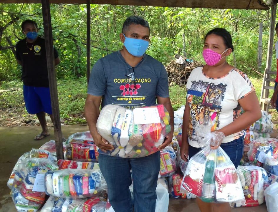 CPT entrega cestas básicas a comunidades rurais do Piauí